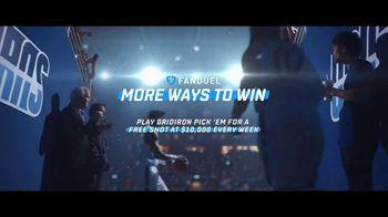 FanDuel Gridiron Pick 'Em Contest TV Spot, 'Moreways to Win: Free Shot' - Thumbnail 10