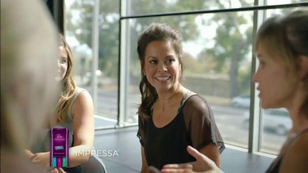 Poise Impressa TV Commercial, 'Own Every Moment' Ft. Brooke Burke-Charvet