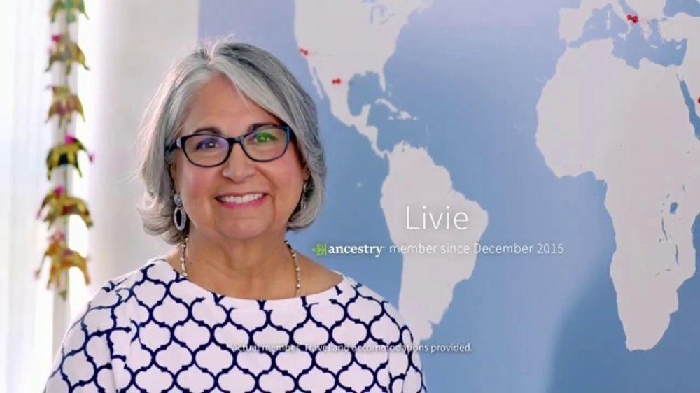 AncestryDNA TV Commercial, 'Testimonial: Livie'