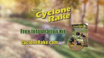 Cyclone Rake TV Spot, 'Leaf Cleanup' - Thumbnail 8