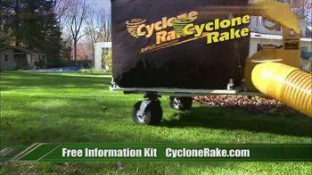 Cyclone Rake TV Spot, 'Leaf Cleanup' - Thumbnail 3