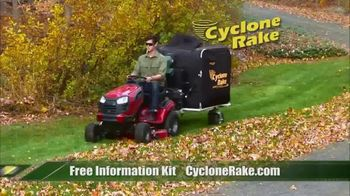 Cyclone Rake TV Spot, 'Leaf Cleanup' - Thumbnail 4