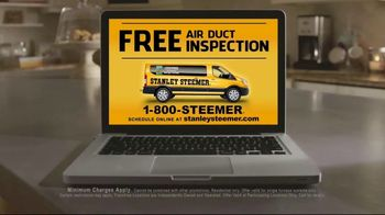 Stanley Steemer Air Duct Cleaning TV Spot, 'Free Air Duct Inspection' - Thumbnail 10
