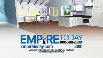 Empire Today 75 Percent Off Sale TV Spot, 'Beautiful New Floors for Less' - Thumbnail 8