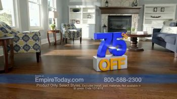 Empire Today 75 Percent Off Sale TV Spot, 'Beautiful New Floors for Less' - Thumbnail 2
