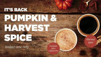 Circle K Premium Coffees TV Spot, 'Pumpkin & Harvest Spice'