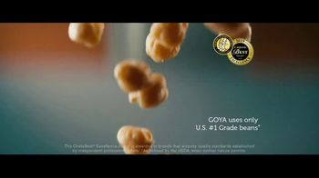 Goya Foods Chick Peas TV Spot, 'Real Life Chefs'