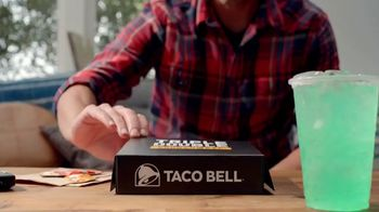 Taco Bell Triple Double Crunchwrap Box TV Spot, 'Back and Front' - Thumbnail 1