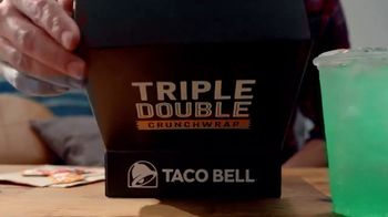 Taco Bell Triple Double Crunchwrap Box TV Spot, 'Back and Front' - Thumbnail 2