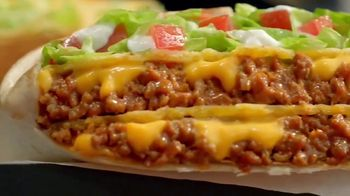 Taco Bell Triple Double Crunchwrap Box TV Spot, 'Back and Front' - Thumbnail 4