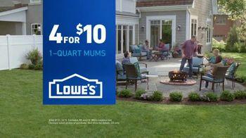Lowe's TV Spot, 'Backyard Moment: Mums' - Thumbnail 6