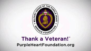Purple Heart Foundation TV Spot, 'Freedom' - Thumbnail 10