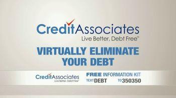 Credit Associates TV Spot, 'Out of Control Debt' - Thumbnail 4