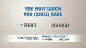 Credit Associates TV Spot, 'Out of Control Debt' - Thumbnail 5