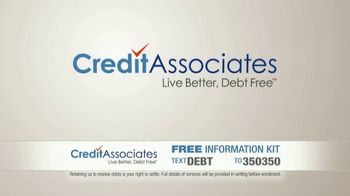 Credit Associates TV Spot, 'Out of Control Debt' - Thumbnail 8