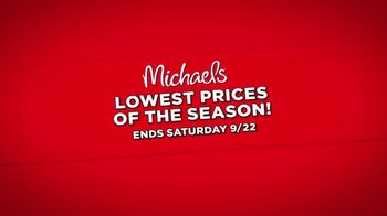 Michaels Lowest Prices of the Season Sale TV Spot, 'Throughout the Store' - Thumbnail 7