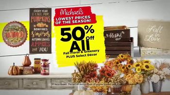 Michaels Lowest Prices of the Season Sale TV Spot, 'Throughout the Store' - Thumbnail 3