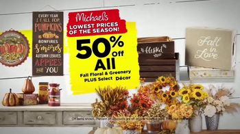 Michaels Lowest Prices of the Season Sale TV Spot, 'Throughout the Store' - Thumbnail 4