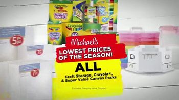 Michaels Lowest Prices of the Season Sale TV Spot, 'Throughout the Store' - Thumbnail 6