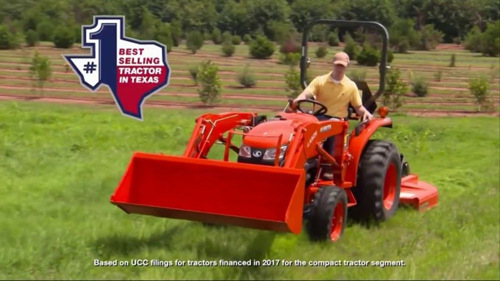 Kubota L2501 DT Compact TV Commercial, 'Compact Tractor' - Video