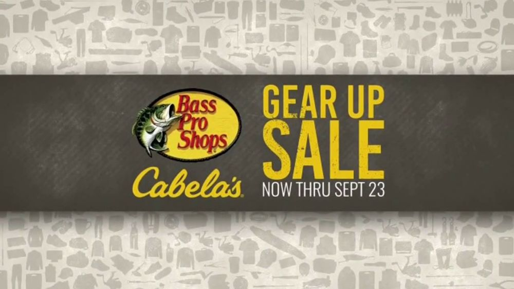 Bass Pro Shops Gear Up Sale TV Commercial, 'Shirts, Boots and Grinder'