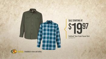 Bass Pro Shops Gear Up Sale TV Spot, 'Shirts, Boots and Grinder' - Thumbnail 4