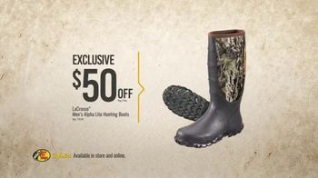 Bass Pro Shops Gear Up Sale TV Spot, 'Shirts, Boots and Grinder' - Thumbnail 5