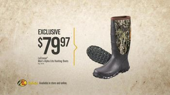 Bass Pro Shops Gear Up Sale TV Spot, 'Shirts, Boots and Grinder' - Thumbnail 6