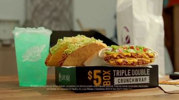 Taco Bell $5 Triple Double Crunchwrap Box TV Spot, 'Ha regresado' [Spanish] - Thumbnail 6