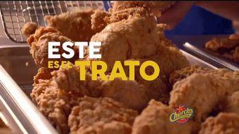 Church's Chicken $15 Real Big Family Deal TV Spot, 'Para todos' [Spanish] - Thumbnail 2
