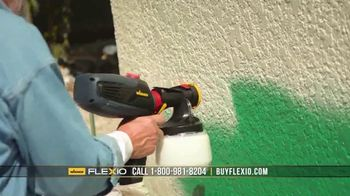 Wagner Paint Flexio TV Spot, 'More Control, Less Mess' - Thumbnail 4