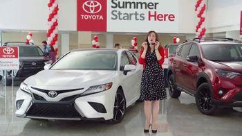 Toyota Summer Starts Here TV Spot, 'Sunglasses' [T2] - 2 commercial airings