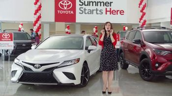 Toyota Summer Starts Here TV Spot, 'Sunglasses' [T2] - 2 commercial airings