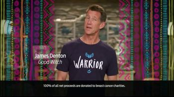 Ford Warriors in Pink TV Spot, 'Helping' Featuring James Denton - 4 commercial airings