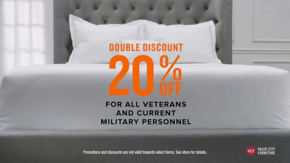 Charmant Value City Furniture Pre Memorial Day Sale TV Commercial, U0027Double Discountu0027    ISpot.tv