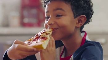 Pizza Hut $7.99 Large 2-Topping Pizza TV Spot, 'Oven Hot Delivery' - Thumbnail 6