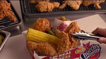 Church's Chicken Restaurants Real Big Deals TV Spot, 'El trato' [Spanish] - Thumbnail 7