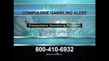 Knightline Legal TV Spot, 'Compulsive Gambling Alert' - Thumbnail 1
