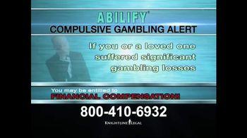 Knightline Legal TV Spot, 'Compulsive Gambling Alert' - Thumbnail 3