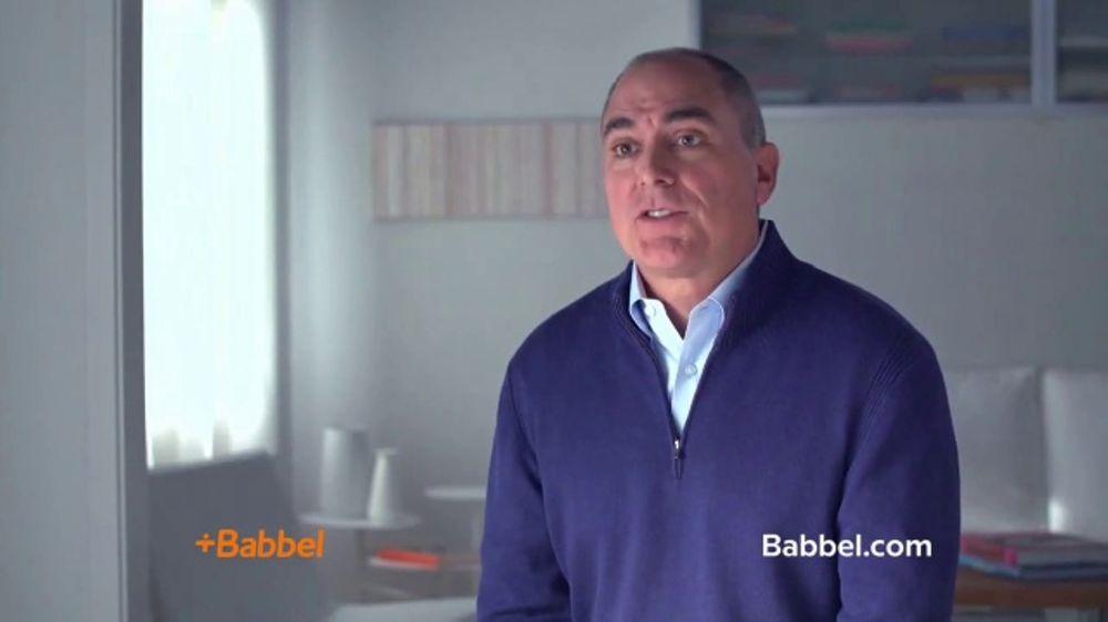 Babbel TV Commercial, 'Bill Speaks French'