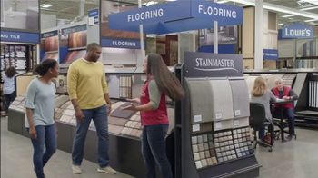 Lowe's TV Spot, 'The Moment: Old Carpet: Stainmaster Deluxe Installation' - Thumbnail 6