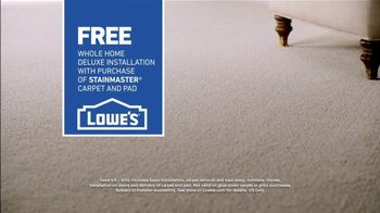 Lowe's TV Spot, 'The Moment: Old Carpet: Stainmaster Deluxe Installation' - Thumbnail 9