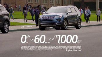 2018 Ford Explorer TV Spot, 'Morning Routine' [T2] - Thumbnail 9