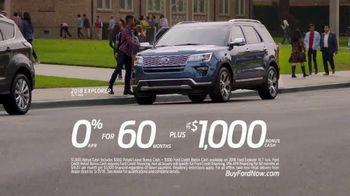 2018 Ford Explorer TV Spot, 'Morning Routine' [T2] - Thumbnail 8