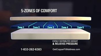 Copper Fit Replenish Sleep System TV Spot, 'Changing the Game' - Thumbnail 4