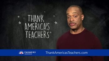 Farmers Insurance TV Spot, 'CBS: Teacher Appreciation' Feat. Rocky Carroll - 4 commercial airings