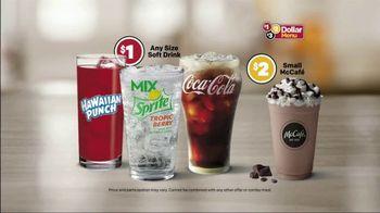 McDonald's $1 $2 $3 Dollar Menu TV Spot, 'Any Size Soft Drink' - Thumbnail 8