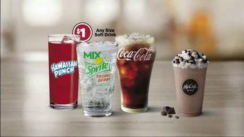 McDonald's $1 $2 $3 Dollar Menu TV Spot, 'Any Size Soft Drink' - Thumbnail 7