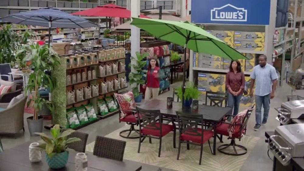 Lowe's TV Commercial, 'Backyard Moment: Patio Furniture ...