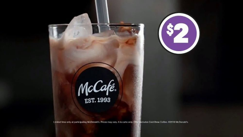 McDonald's McCafe Iced Coffee TV Commercial, 'Garage Band ...